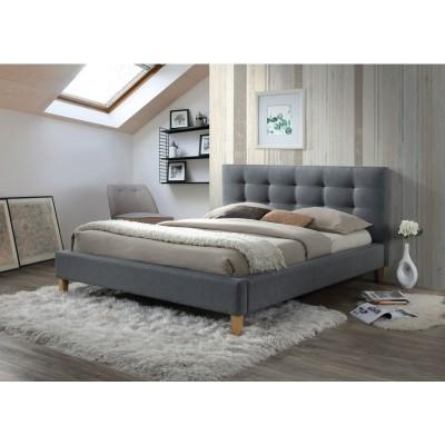 Кровать SIGNAL TEXAS серая, 140/200