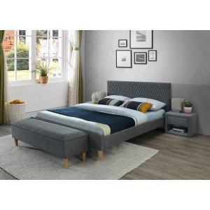 Кровать SIGNAL AZURRO серый/дуб, 160/200 NEW