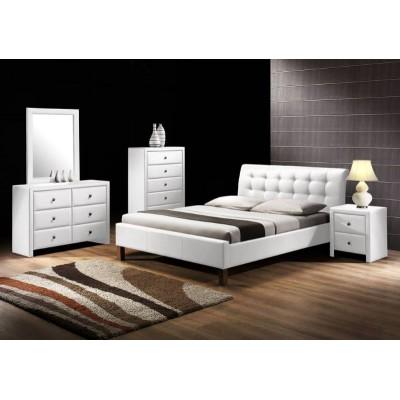 Кровать HALMAR SAMARA белая