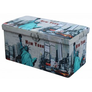 Пуф HALMAR MOLY XL Нью йорк