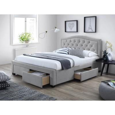 Кровать SIGNAL ELECTRA  серый, 160/200