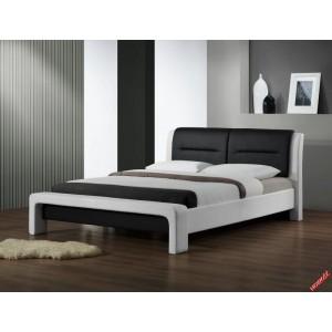 Кровать HALMAR CASSANDRA 120  бело/черная