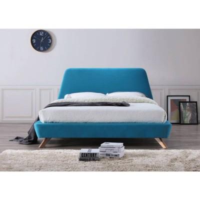 Кровать SIGNAL GANT бирюзовая, 160/200