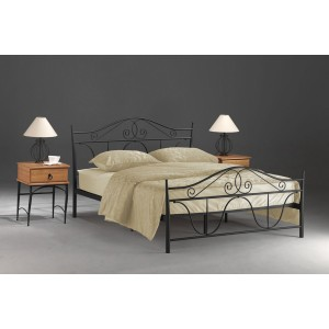 Кровать SIGNAL DENVER черная 160/200