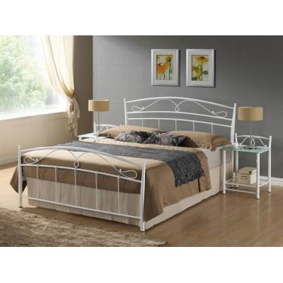 Кровать SIGNAL SIENA белая, 120/200