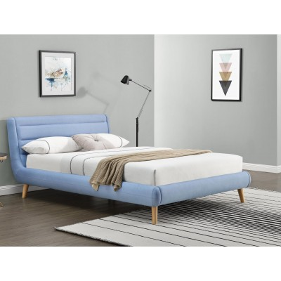 Кровать HALMAR ELANDA синий, 160/200