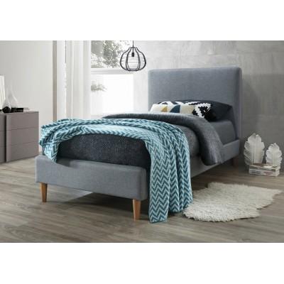 Кровать SIGNAL ACOMA серый/дуб, 90/200 NEW