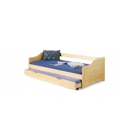 Кровать HALMAR LAURA сосна