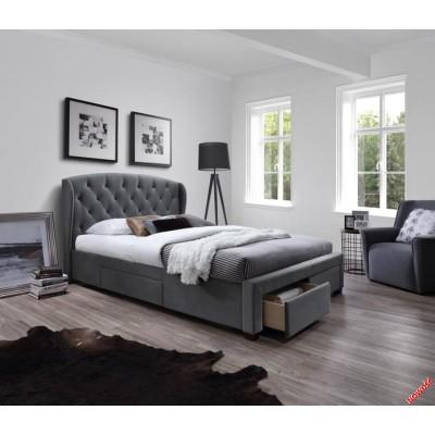 Кровать HALMAR SABRINA серая