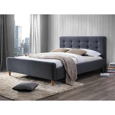 Кровать SIGNAL PINKO серый, 160/200