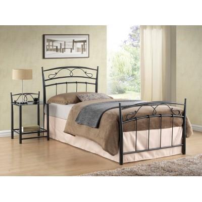 Кровать SIGNAL SIENA черная 90/200