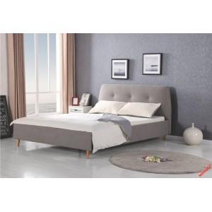 Кровать HALMAR DORIS серая/ольха