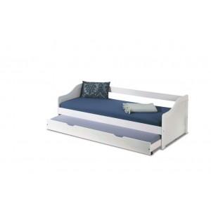Кровать HALMAR LEONIE 2 белый, 90/200
