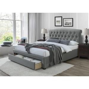 Кровать HALMAR AVANTI серый, 160/200 NEW