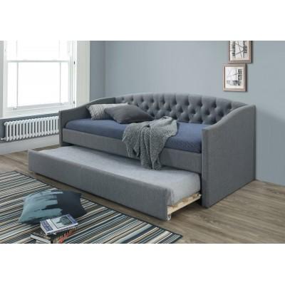 Кровать SIGNAL ALESSIA серый/дуб, 90/200 NEW