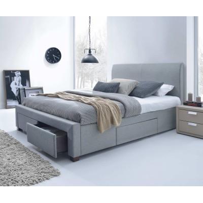 Кровать HALMAR MODENA серая