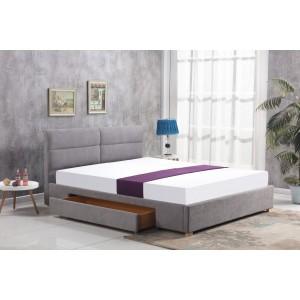 Кровать HALMAR MERIDA светло-серый, 160/200