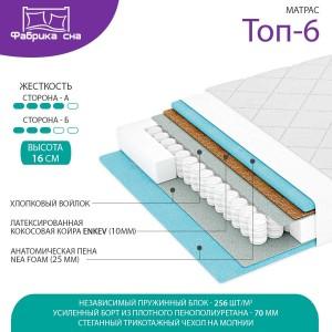 Матрас Фабрика Сна Топ-6